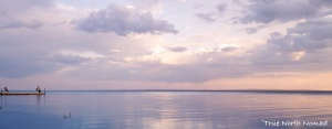 solitude sunset slave lake alberta