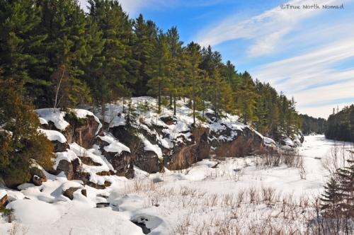 cliffs-along-river