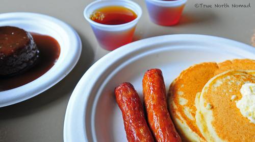 maple pancake breakfast