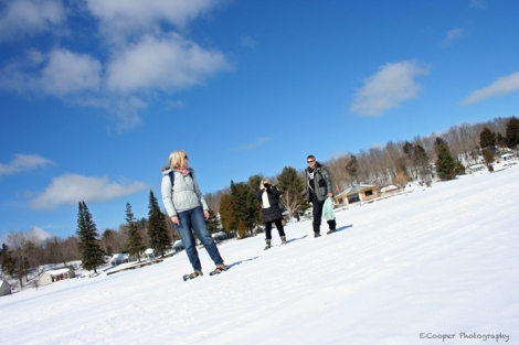 picture, snow, ice, snoeshoes, hike, winter