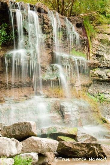 Rock Glen waterfall