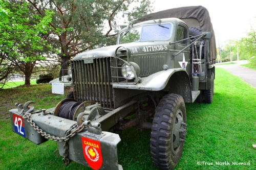 WWII Truck - didn't actually see action over sees, just served here in North America