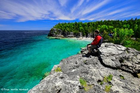 indian head cove bruce peninsula national park
