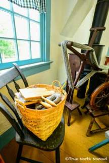 fort-malden-house-spinning-wheel