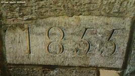 corner stone laid by Alexander Mackenzie