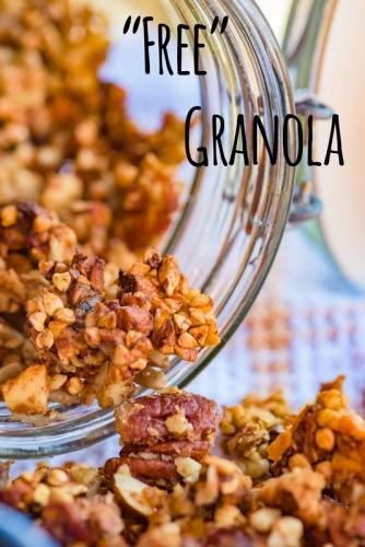 grain dairy gluten free granola