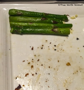 some of us are still 5 and only eat the tops off our asparagus... (JACK)