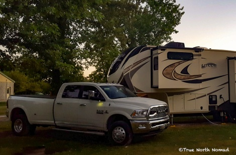 nomadic lifestyle, full time rv living, rv life, travel, nomad, ram 3500 dually, grand design solitude