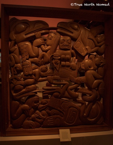 victoria, british columbia, royal bc museum, travel, first nations