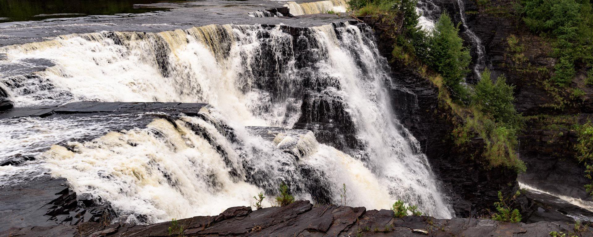 Kaministiquia River, kakabeka Falls, Ontario, waterfall, travel, adventure, hiking, nature, wanderlust, legend, sacrifice