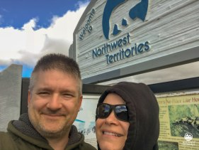 North West Territories sign