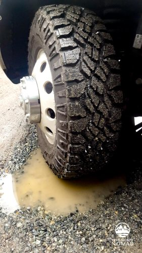 Goodyear Wrangler DuraTrac, tire review, all terrain, winter driving
