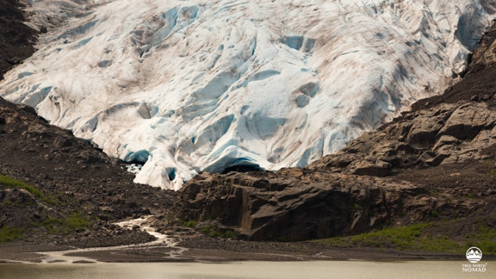 bear glacier, Stewart-Cassiar, highway 37, British Columbia, mountains, lake, alpine, wanderlust
